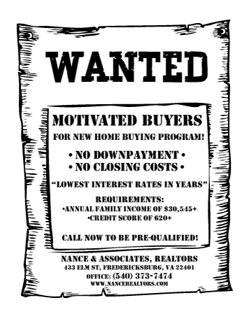 Wanted: Motivated Buyers for first time Home …