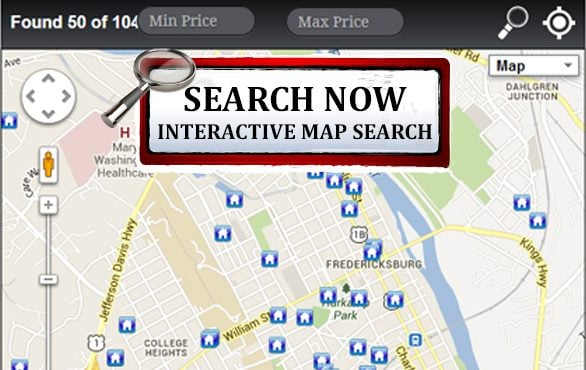 Interactive MLS Map Search