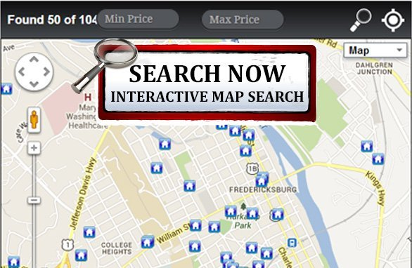 Mls map search find homes for sale in the fredericksburg for Find builders in your area