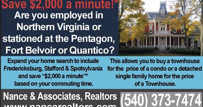 Are employed in Northern Virginia or stationed at the Pentagon, Fort Belvoir or Quantico?