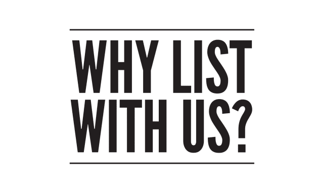 why list your home with us