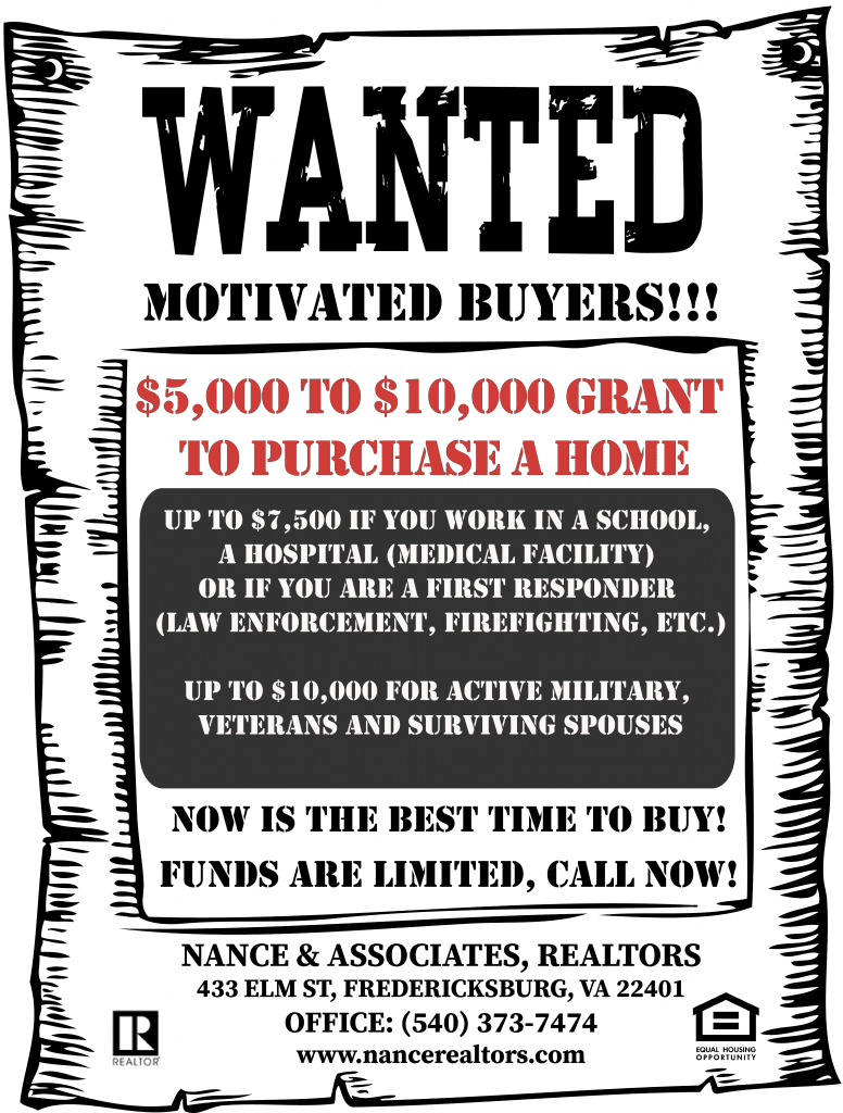 5000-10000 home buying grant